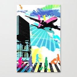 City Cloud Canvas Print