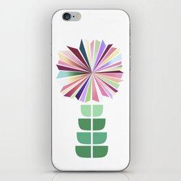 70ies flower No. 1 iPhone Skin