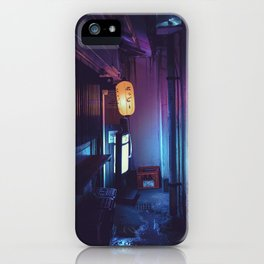 Tokyo Nights / Lonely Lantern / Liam Wong iPhone Case