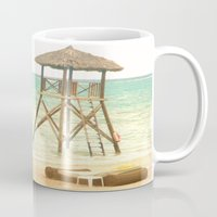 jamaica Mugs featuring A day in Jamaica by Catherine G
