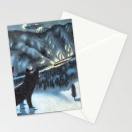 The Fur of the Glacial Mouse Stationery Cards