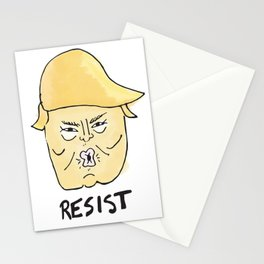 Resist. Stationery Cards