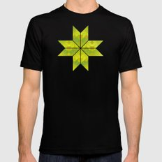 Undergrowth MEDIUM Black Mens Fitted Tee