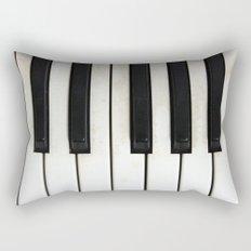 Lost melodies Rectangular Pillow
