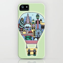 Hot Airballoon iPhone Case