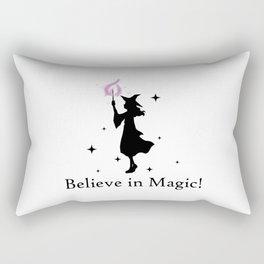 Believe in Magic Rectangular Pillow