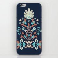 folk iPhone & iPod Skins featuring Folk by Carolina Abarca