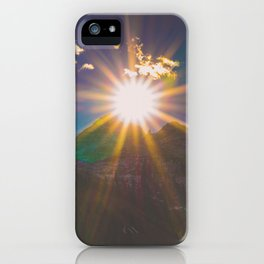 Sunset at Maroon Bells iPhone Case