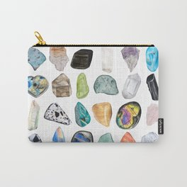 Illuminated Structure: Mineral Party 2 Carry-All Pouch