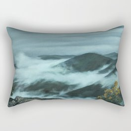 Clouds in the Mountains Rectangular Pillow