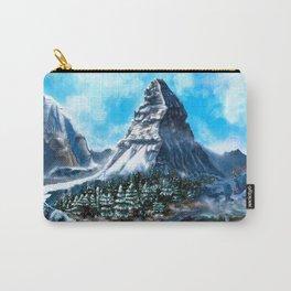 Where the Mountain Kailash Meets Matterhorn Carry-All Pouch