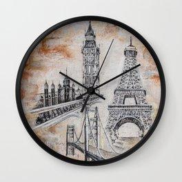 Wounderlust Wall Clock