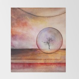 LoneTree 04 Throw Blanket
