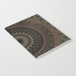 Mandala in brown tones Notebook