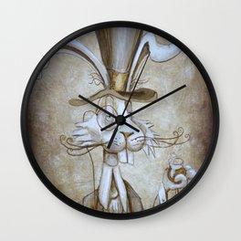 Tim & Jill's Mr. Hasenpfeffer Victorian Style Portrait Wall Clock