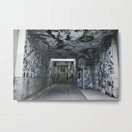 Montreal Street Art Metal Print