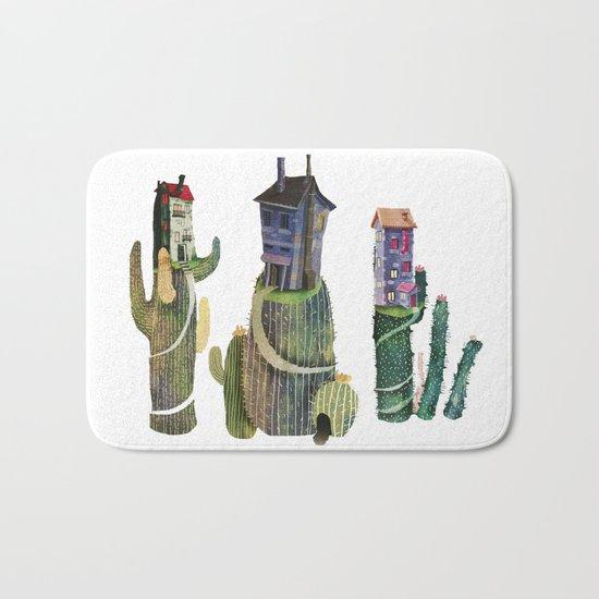 cactus mountains Bath Mat