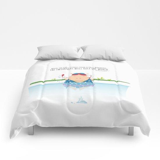 Tifanny - Swimmer Comforters