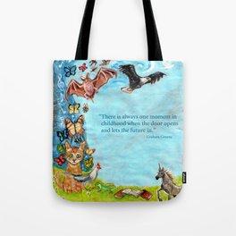 Graham Greene, childhood Tote Bag