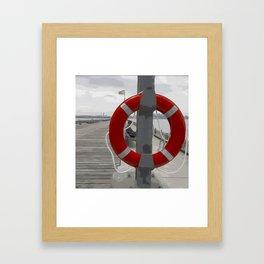 Help Someone  Framed Art Print