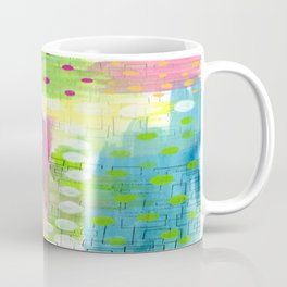 Polk-A-Dotted Background Coffee Mug