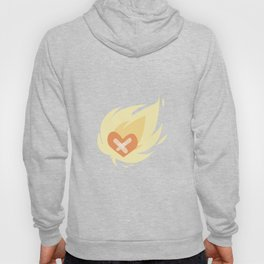 Burning wounded heart Hoody