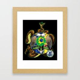 ABJJ-KHS Design Framed Art Print
