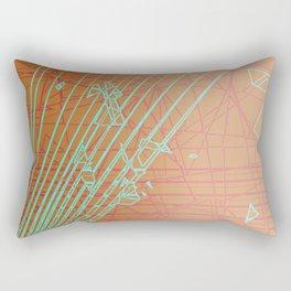 Borderline Zone Rectangular Pillow