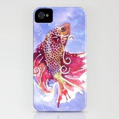 Fish Swirl Slim Case iPhone (4, 4s)