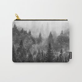 The Visionary Echo BW #society6 Carry-All Pouch