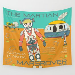 The Martian Wall Tapestry