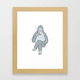 Coffee break... Framed Art Print