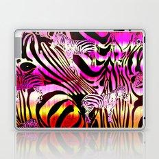 Wild Zebra Laptop & iPad Skin