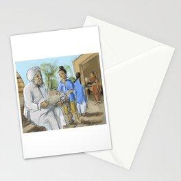 Punjabi Lesson From Dadaji Stationery Cards