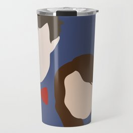 The Eleventh Doctor and the lovely Clara Oswin Oswald Travel Mug