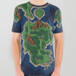 Chrono Trigger 1000AD All Over Graphic Tee