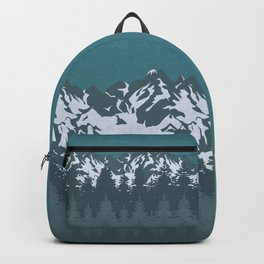Trees and Mountains Backpack