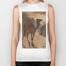 Vintage Camel Painting (1909) Biker Tank