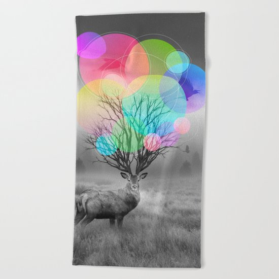 Calm Within the Chaos Beach Towel
