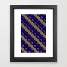 Pixel Stack no.1 Framed Art Print