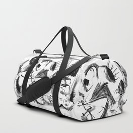 Lonely Rabbi - b&w Duffle Bag