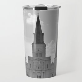 St. Louis Cathedral - Jackson Square, New Orleans Travel Mug