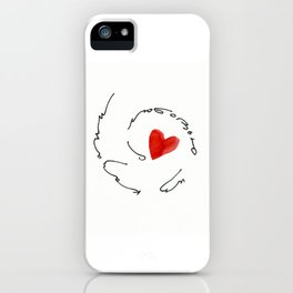 love from kazan iPhone Case