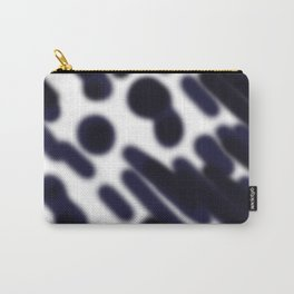 BW dots design vint black--white Carry-All Pouch