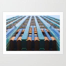 Eastern Columbia Building I Art Print