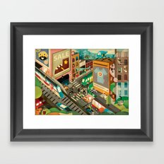 City Madness ( 2011 ) Framed Art Print