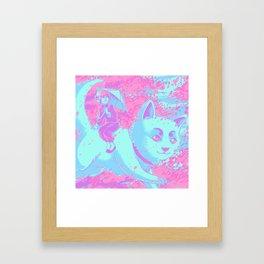 Kagura and Sadaharu Framed Art Print
