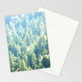 California trees Stationery Cards