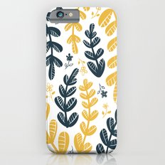 Yellow Leaves Slim Case iPhone 6s