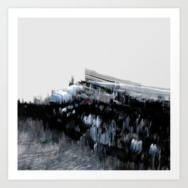 Tokyo in the Ice Age no. 0 Art Print